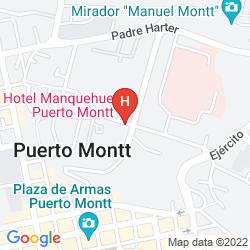 Map MANQUEHUE HOTEL
