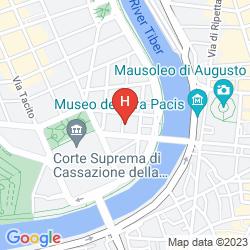 Map ARA PACIS INN