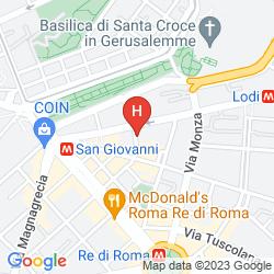 Map B&B CASA DI SILVIA