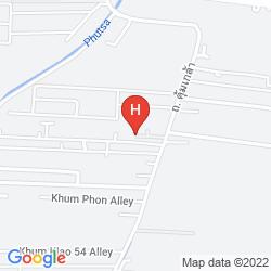Map ARANTA AIRPORT HOTEL BANGKOK