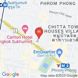 Map AMORA NEOLUXE HOTEL