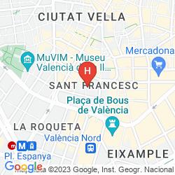 Map CASUAL VALENCIA DEL CINE