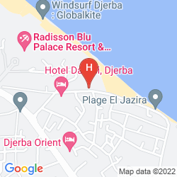 Map LE BEAU RIVAGE