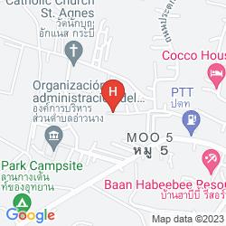 Map AO NANG GARDEN HOME RESORT