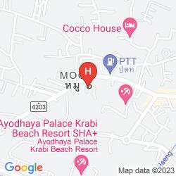 Map BAAN HABEEBEE RESORT