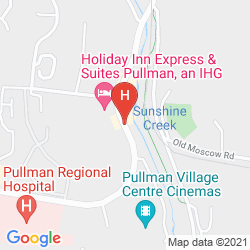 Map HOLIDAY INN EXPRESS HOTEL & SUITES PULLMAN