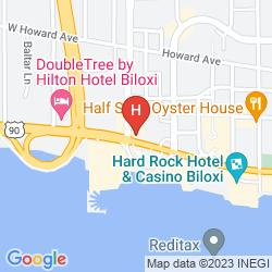Map BEST WESTERN PLUS OAK MANOR