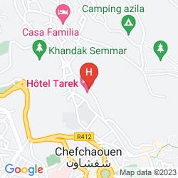 Map HOTEL TAREK