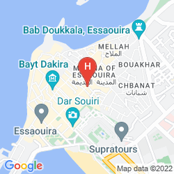 Map ESSAOUIRA WIND PALACE