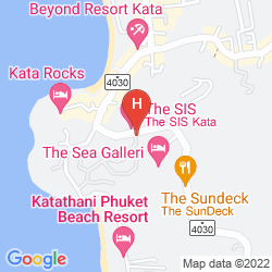Map KATA PALM RESORT AND SPA