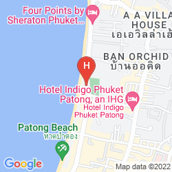 Map ANDAMAN BEACH SUITES