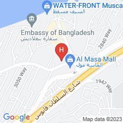 Map RAMADA BY WINDHAM QURUM BEACH