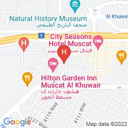 Map LA ROSA HOTEL OMAN