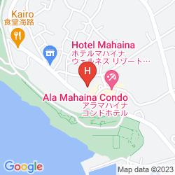 Map HOTEL MAHAINA WELLNESS RESORT OKINAWA