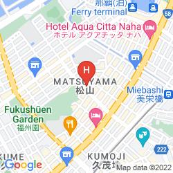 Map HOTEL SOLVITA OKINAWA MATSUYAMA