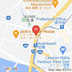 Map HOTEL YUQUESTA ASAHIBASHI