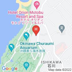 Map CENTURION HOTEL OKINAWA CHURAUMI