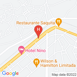 Map HOTEL RITZ ROMA