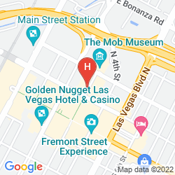 Map DOWNTOWN GRAND LAS VEGAS