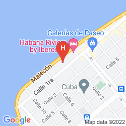 Map HABANA RIVIERA BY IBEROSTAR