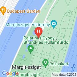 Map DANUBIUS HEALTH SPA RESORT MARGITSZIGET