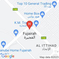 Map MIRAMAR AL AQAH BEACH RESORT FUJAIRAH