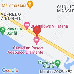 Map CANADIAN RESORT ACAPULCO DIAMANTE