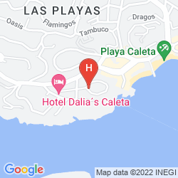 Map BUNGALOWS PUERTO ANGEL