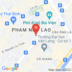 Map PULLMAN SAIGON CENTRE