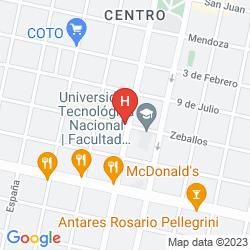 Map 1412 HOTEL BOUTIQUE DE LUJO