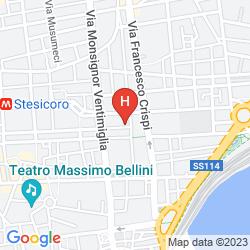 Map DE CURTIS PALACE