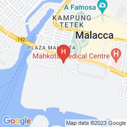 Map HOLIDAY INN MELAKA