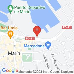 Map VILLA DE MARIN
