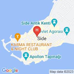 Map BEGONVILLE PENSION