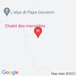 Map ARRUCADOR BOUTIQUE LODGE
