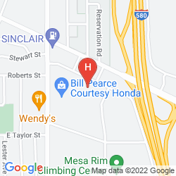 Map BAYMONT INN AND SUITES RENO