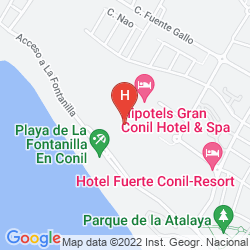 Map HIPOTELS GRAN CONIL & SPA