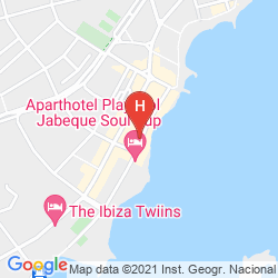 Map RYANS IBIZA APARTMENTS ONLY ADULTS