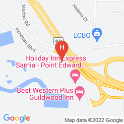 Map HOLIDAY INN & CONFERENCE CENTRE