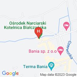 Map HOTEL BANIA THERMAL & SKI
