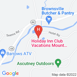 Map HOLIDAY INN CLUB VACATIONS AT ASCUTNEY MOUNTAIN RESORT