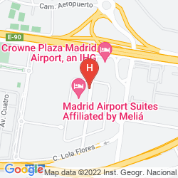Map TRYP MADRID AIRPORT SUITES