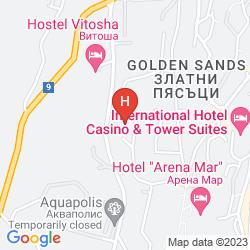 Map PERLA HOTEL