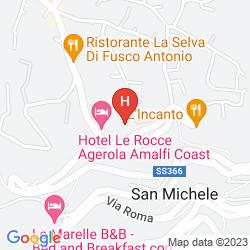 Map VILLA DONNA FAUSTA