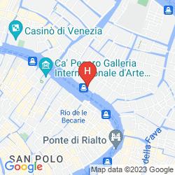 Map PESARO PALACE