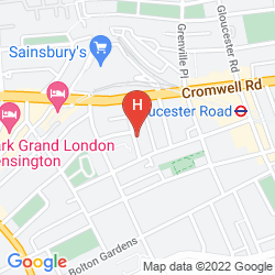Map CURZON HOUSE HOTEL