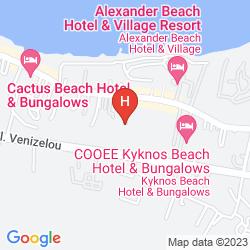 Map SERGIANI APARTMENTS