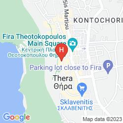 Map FIRA CALM HOTEL
