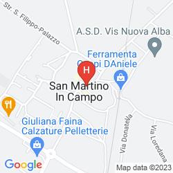 Map ALLA POSTA DEI DONINI