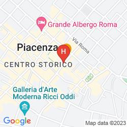 Map CLASSHOTEL PIACENZA JUNIOR